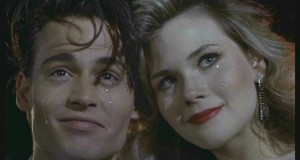 Johnny Depp and Amy Locane as Star Crossed Lovers in Cry-Baby