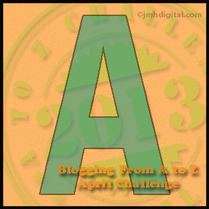 Today's blog post brought to you by the letter A