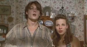 Depp and Lili Taylor in Arizona Dream