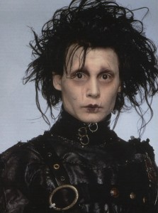 Team Edward - Johnny Depp as Edwards Scissorhands