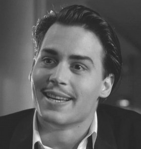 Well, that's just swell! - Johnny Depp as director Ed Wood