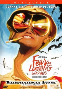 Fear and Loathing in Las Vegas (1998) DVD Cover