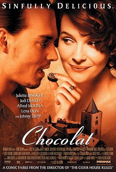 Chocolat (2000) with Juliette Binoche and Johnny Depp
