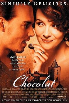 Chocolat (2000) with Juliette Binoche and Johnny Depp