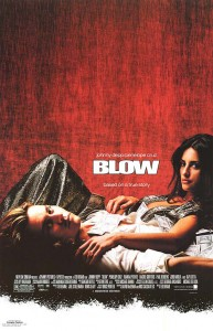 Blow (2001) with Johnny Depp, Penelope Cruz, and Franka Potente, Rachel Griffiths, Paul Reubens, and Ray Liotta